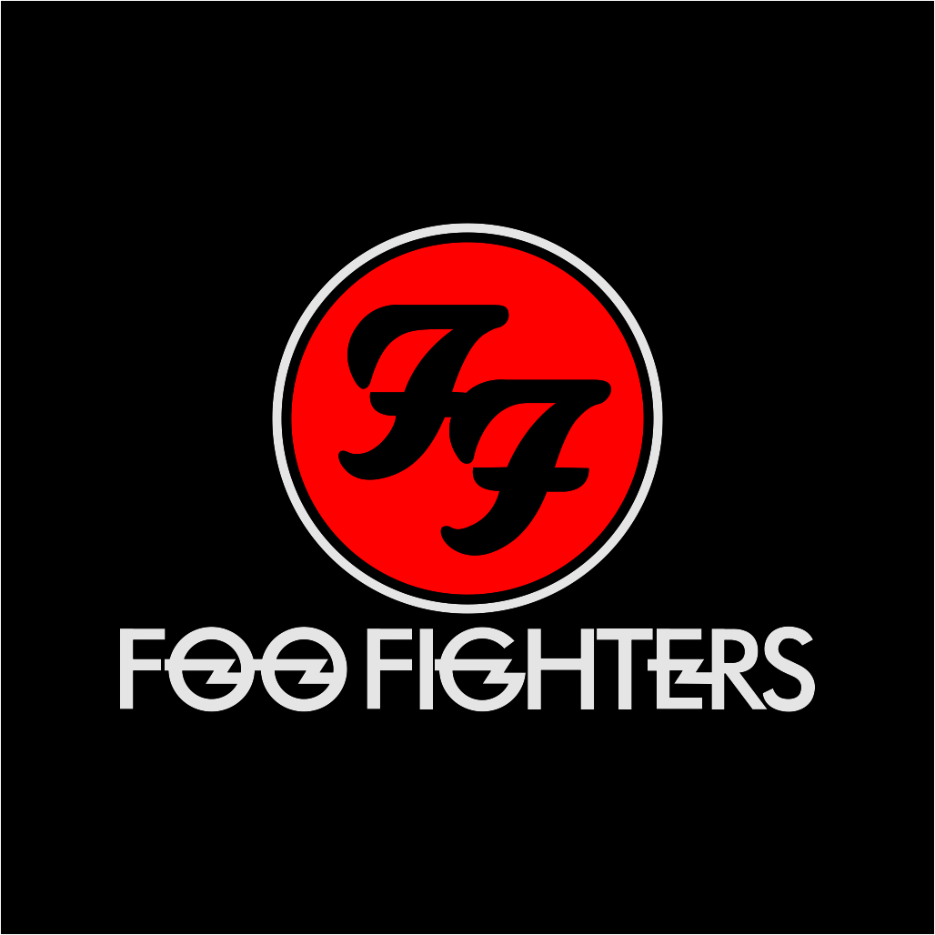 Foo Fighters Logo Free Download Vector CDR, AI, EPS and PNG Formats