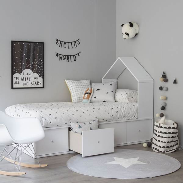 Ideas For Decorating a Children Room With Nordic Style 1