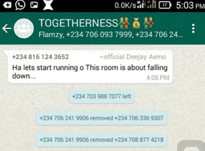 Admin Shuts Down Ponzi Whatsapp Group After 200 Members Paid 3k Each