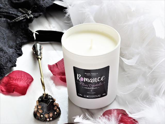 avis Fleur Orientale de Clos des Senteurs, bougie orientale, bougie parfumee, blog bougie, bougie francaise, candle review