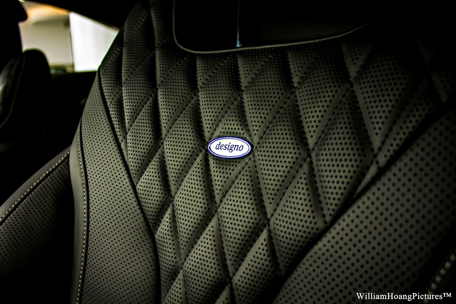 Ghế ngồi thiết kế bởi Designo, nên chắc chắn thuộc hàng sang và chất nhất thế giới