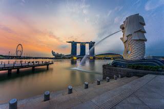 merlion Park   paket tour singapura murah 2017