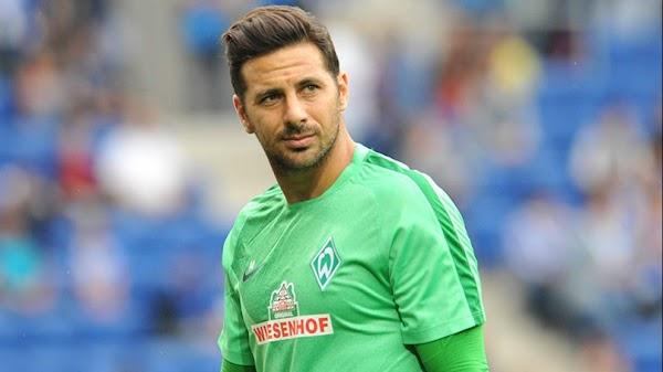 Oficial: Werder Bremen, regresa Claudio Pizarro