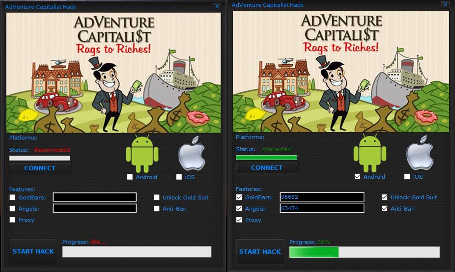 App Hacks: AdVenture Capitalist Hack