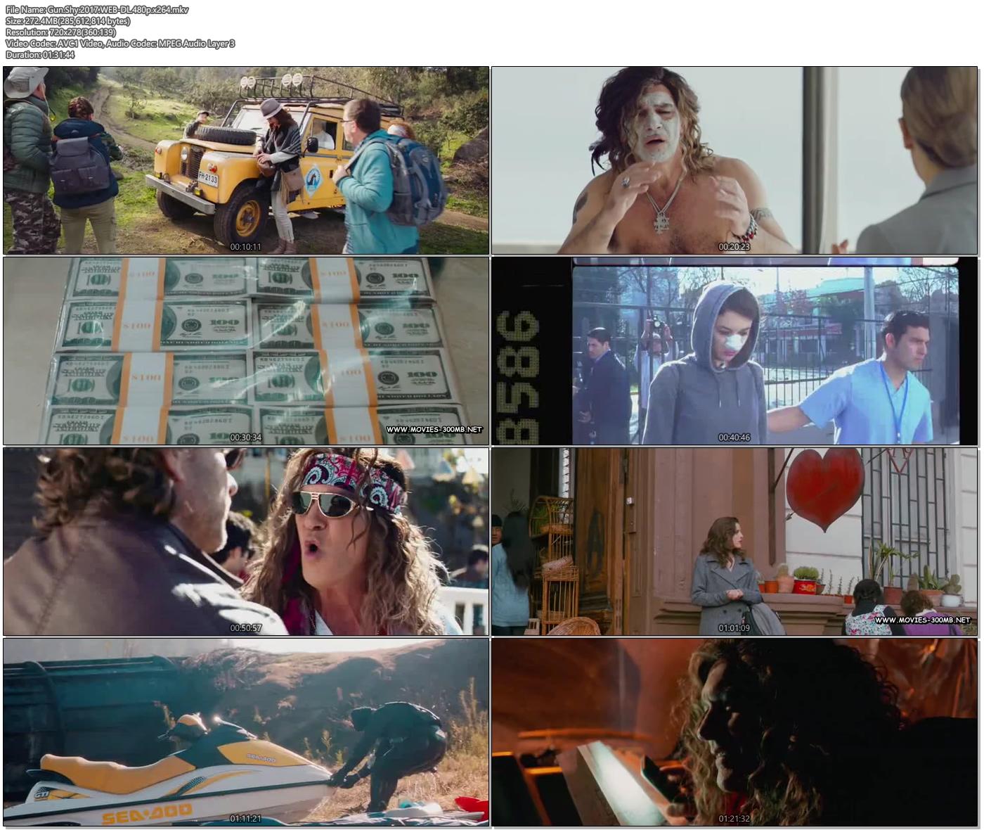 Gun Shy 2017 WEB-DL 480p x264 300MB Movie Screenshot