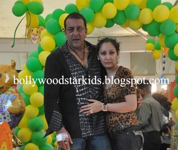 Blank Record: Sanjay and Manyata Dutt Celebrate First