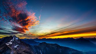 Wallpaper: Surreal Sunset