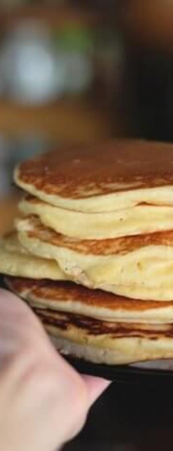 Easy Fluffy Low Carb Keto Pancakes #EASY #PANCAKE #LOWCARB #KETORECIPES