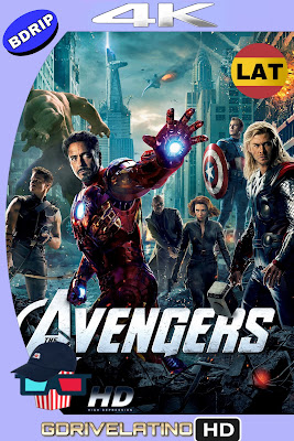 Los vengadores 2012 Latino-Ingles 4K Bdrip HD MKV