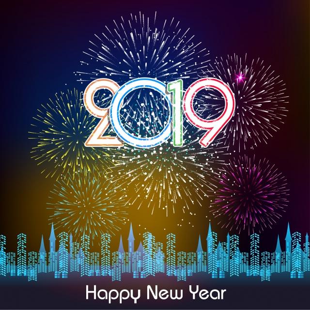 tải hình ảnh bắn pháo hoa đẹp nhất happy new year 2019