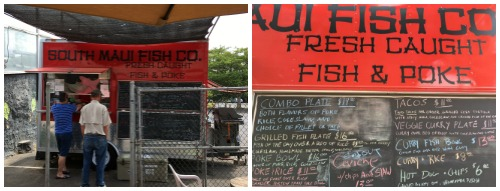 South Maui Fish Co. food truck