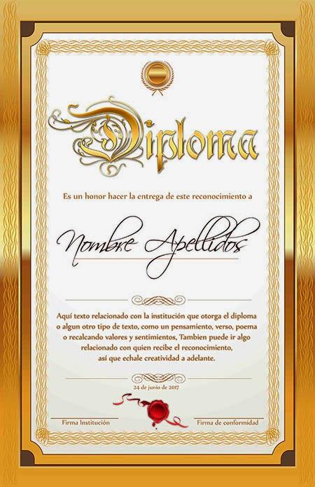 Diplomas y certificados gratis para Photoshop enero 2015