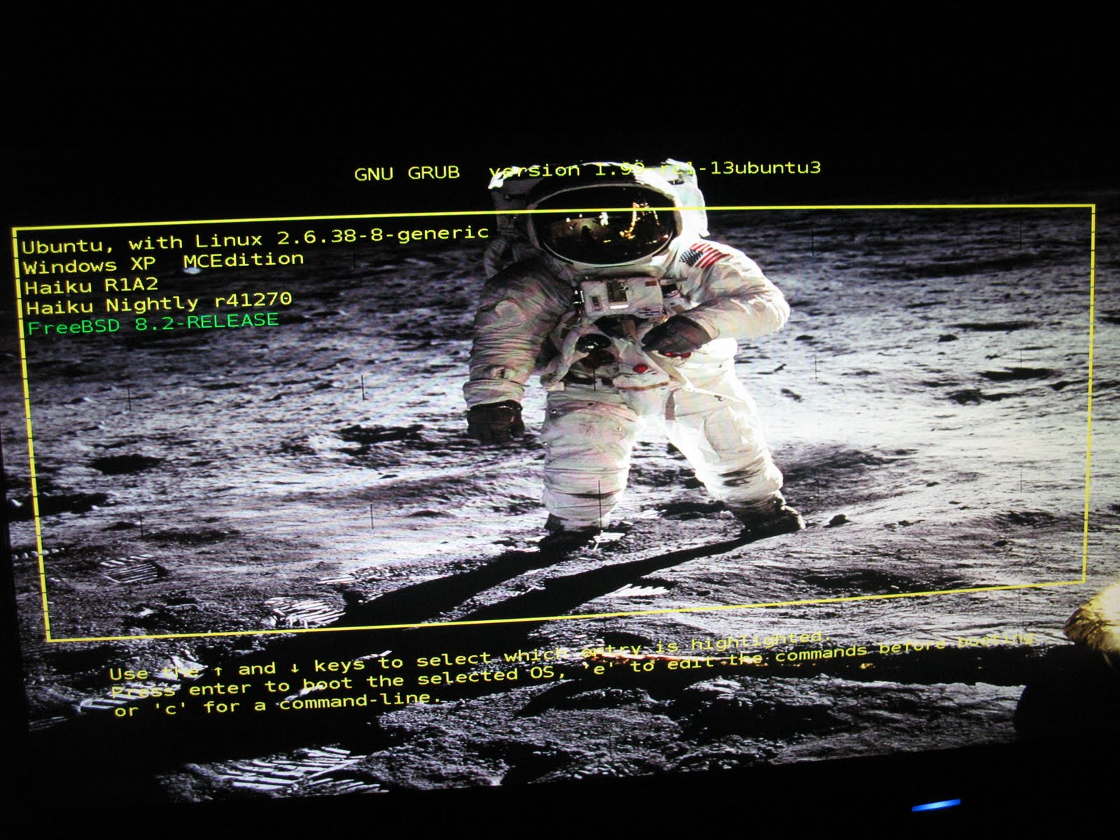 Computer notes: Cleaning up Grub2 boot menu