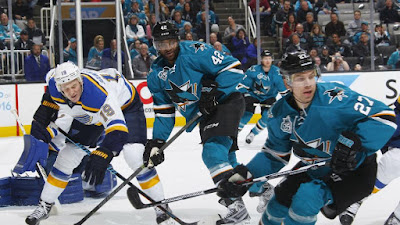 NHL : Sharks Put Blues on Brink for Game 6