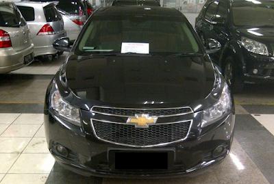 Eksterior Chevrolet Cruze