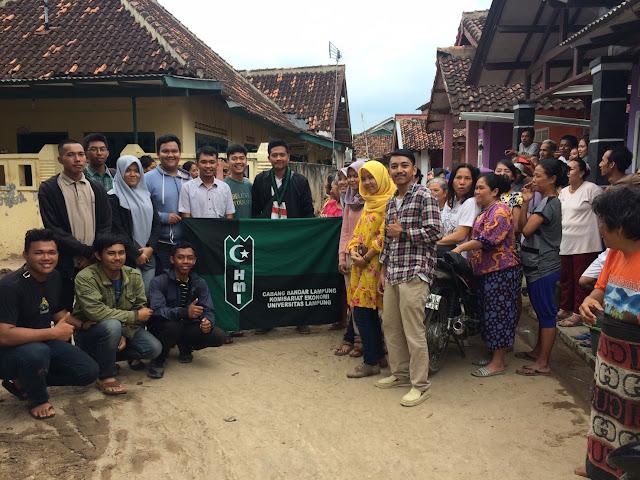 Bakti Sosial HMI Untuk Korban Banjir Lampung