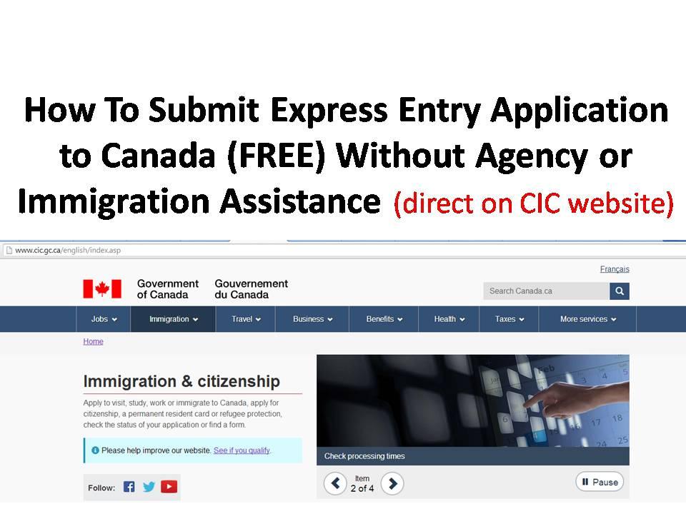 document checklist for express entry visa canada