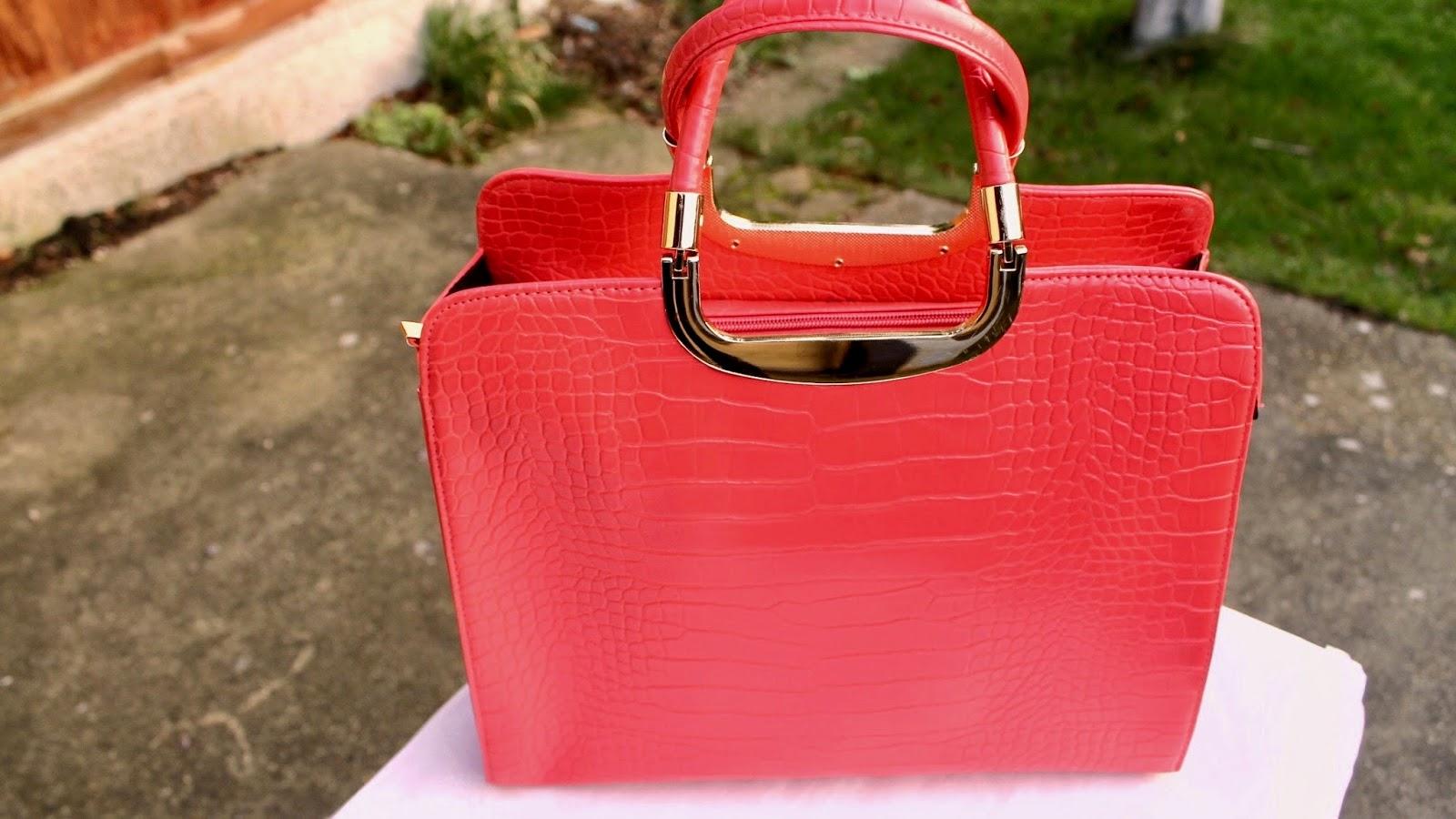 Dorothy Perkins Red Handbag