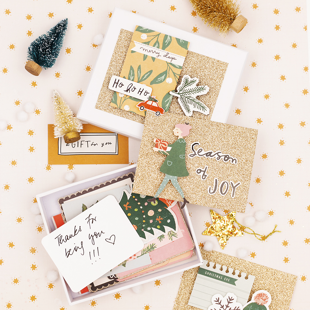 Crate Paper | Happy Notes in December | Merry Days INSTASTORY