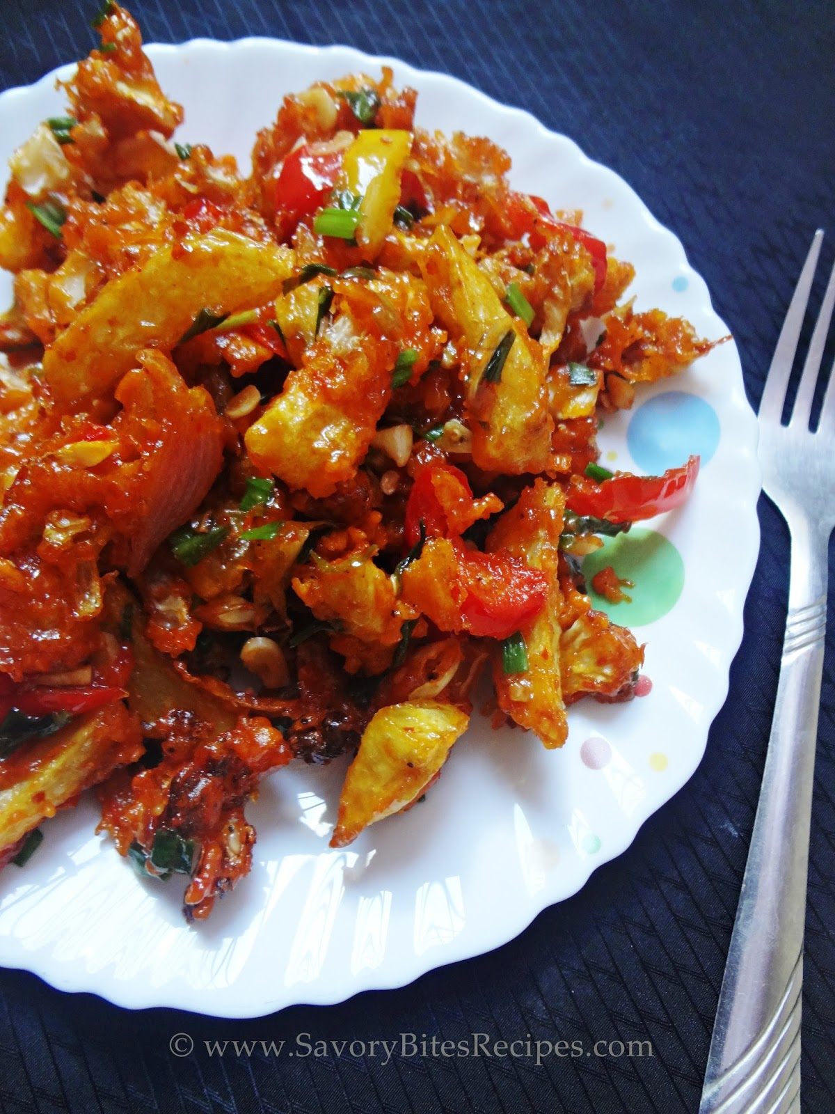 Crispy Veg Schezwan Starters Appetizers Indo-Chinese Vegetarian