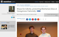 Hoyas for Liberty Georgetown University libertarians students