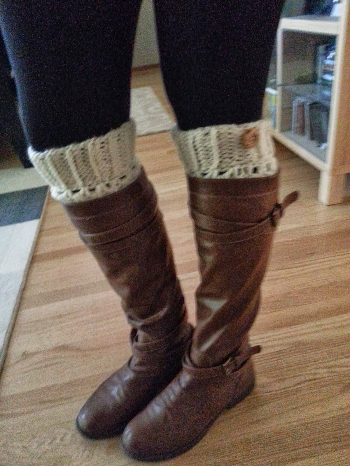 Crochet From J Boot Cuffs Pattern