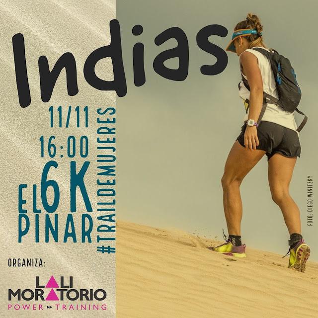 6k Indias - por la arena - trail para mujeres (El Pinar, 11/nov/2017)