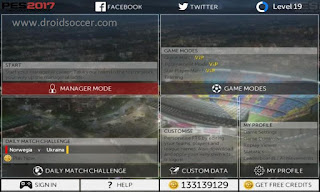 FTS 15 MOD PES 2017 by Alan Apk + Data Obb
