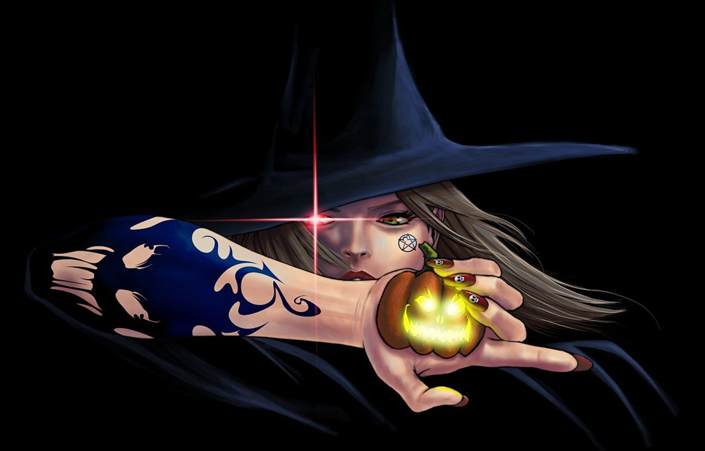 animated halloween wallpaper witches - photo #11