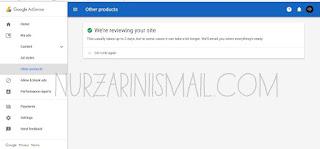 Adsense Hilang Selepas Tukar Domain