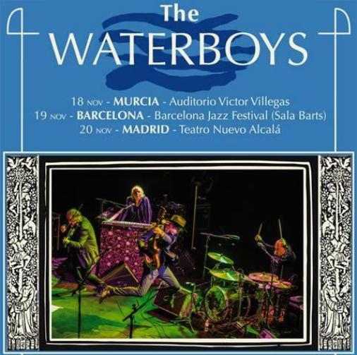 The Waterboys gira España presentando 'Out of all this blue'