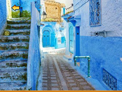 Blue City Chefchaouen Escape Walkthrough