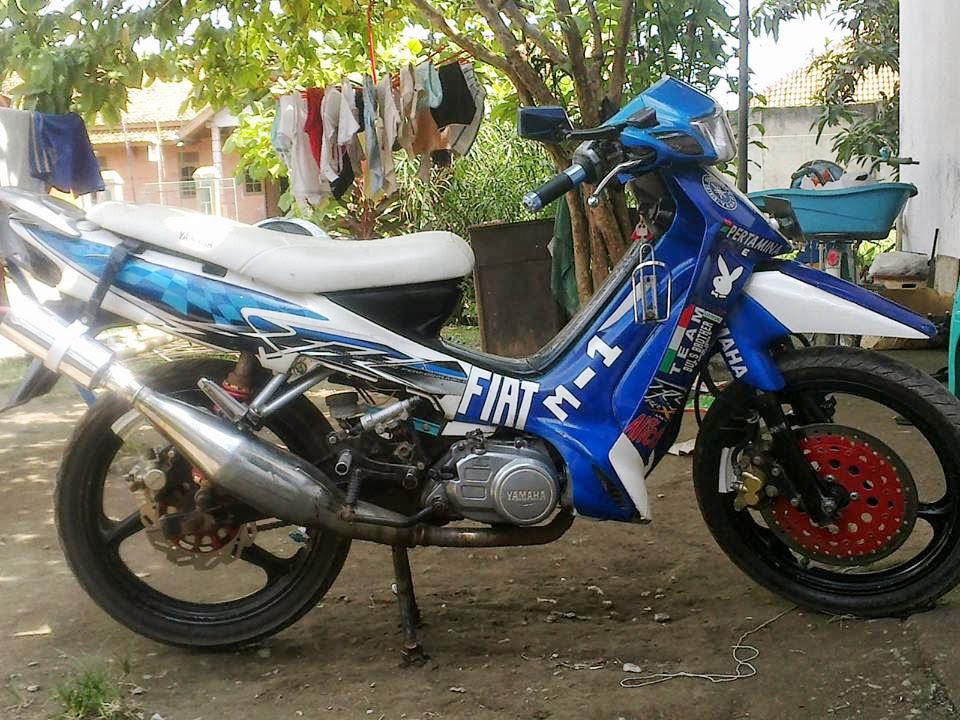 Modifikasi Yamaha Force 1 - F1Z - F1ZR Indonesia Part 1