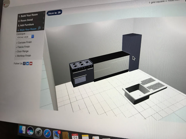 DIY Kitchen Designing with 3D images