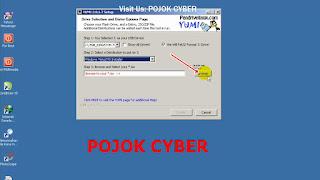 Gambar 5 - Selanjutnya Browse atau mencari file ISO Windows yang akan dibutakan Bootabel USB