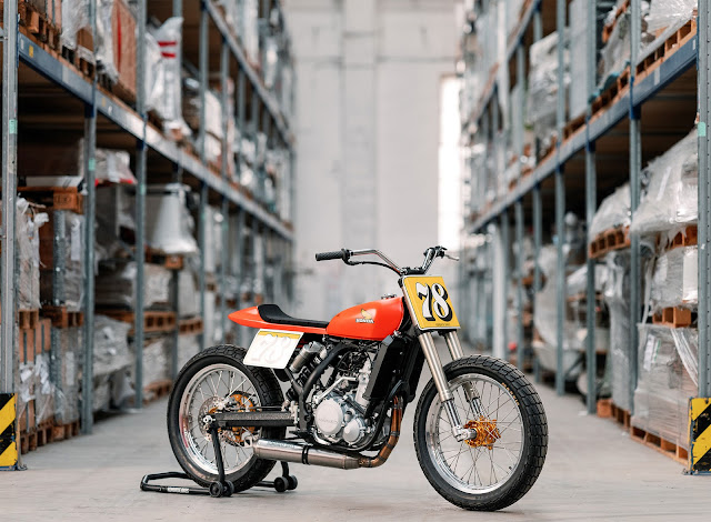 KTM 450 By Hombrese Bikes Hell Kustom