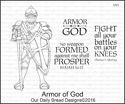 Our Daily Bread Designs Stamp Set - Armor of God