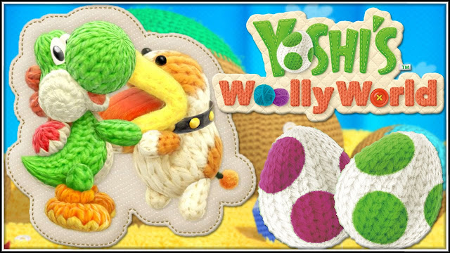 Ya disponible la demo de Poochy & Yoshi's Woolly World en 3DS