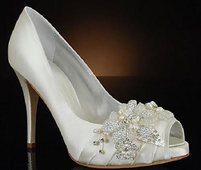 sapato branco para noivas