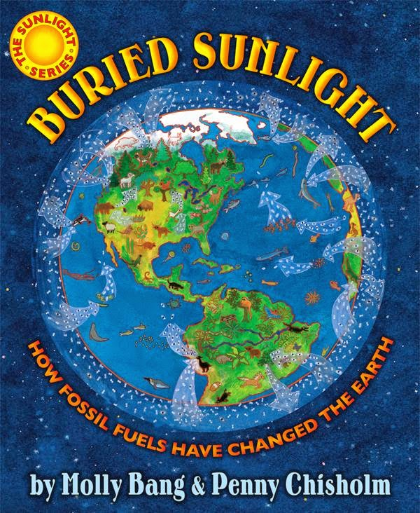 Buried Sunlight by Molly Bang book cover science nonfiction