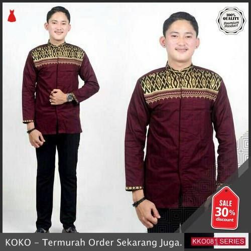 KKO81 BTK855 Koko Kombinasi Ramadhan Untuk Pria Termurah BMGShop