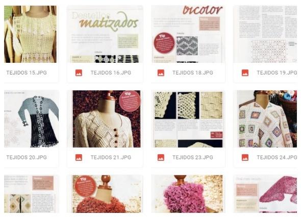 revistas crochet, libros para tejer, patrones para crochet, enrhedando