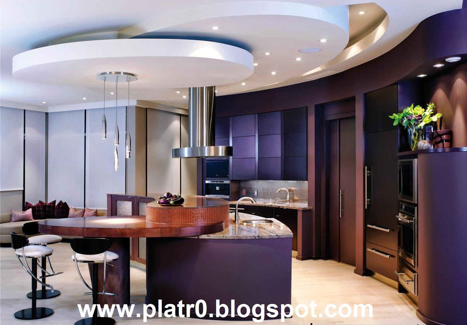 17 Meilleur Faux Plafond Cuisine - Décoration Platre Maroc - Faux