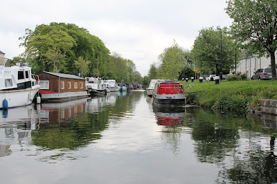 Barges on the canal in Sallins