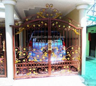Jasa pembuatan pagar klasik / pagar tempa murah indonesia