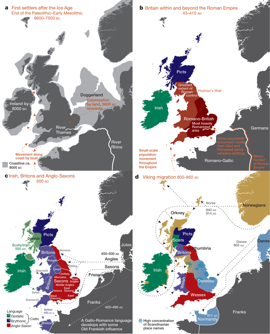 Ancient British populations