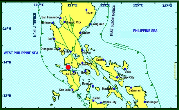 5.4 Magnitude Earthquake Hits Luzon
