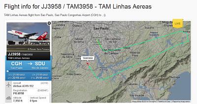 Aplicativo para monitorar voos