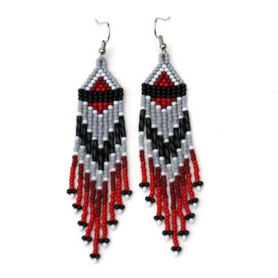 авторские украшения в стиле бохо купить серьги в этно стиле
