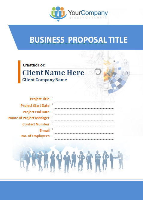 Doc451597 Business Bid Template Format Of Business Proposal – Bid Proposal Template Word